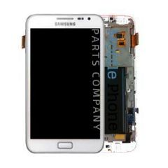 Genuine Samsung Galaxy Note 1 N7000 LCD + Digitiser White - Part No: GH97-12948B